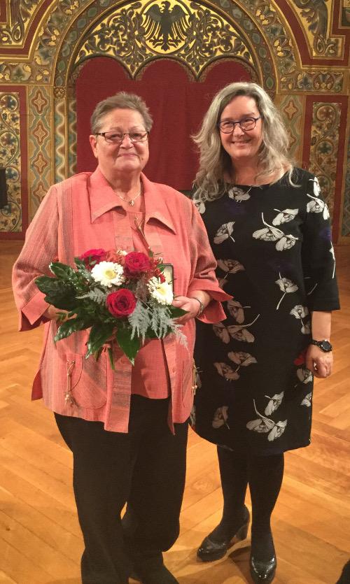 Thüringer Rose für Elke Pudszuhn